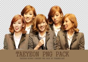 SNSD Taeyeon Coway Concert PNG by yohanesArt