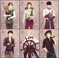 EXO-M - Pirates by AdamaSto