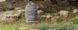 Stacked Stone Vase, the Maiden by Devine-Escapes