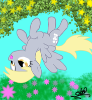 Derpy is derped by FierceFlash