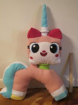 Unikitty Plush *AVAILABLE FOR COMMISSION!* by bigtimetransfan27