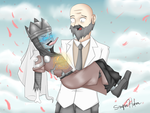 Maxis And The Agarthian Zombie Wedding by Sniper-Huntress