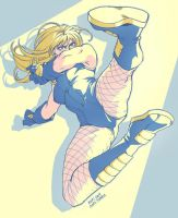 Black Canary Kickin' Buns by Soap-Committee