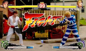Ryu vs. Cody... FIGHT! by BBWF-Tyrant