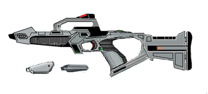 Phaser Type-XM2-PDS by Merc-Raven