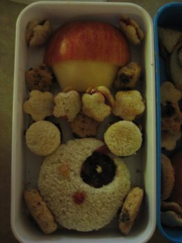 bear bento by MonnieBiloney