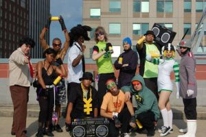 Jet Grind Radio Group by silvver