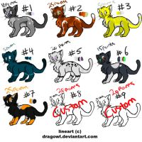 Cheap Cat Point Adopts by ForTheLoveOfWalrus