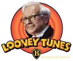 looney tunes WARREN BUFFET copy by jbeverlygreene