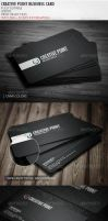 Creative Point Business Card by vitalyvelygo