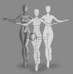 Female Body Reference (P2U) by Nahemii-san
