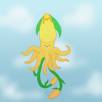 Tentacle Corn by CrystallineColey