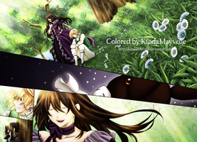 Pandora Hearts - A Song in the Forest by KindaMayvelle