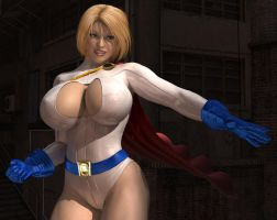 Powergirl Revisited by willdial