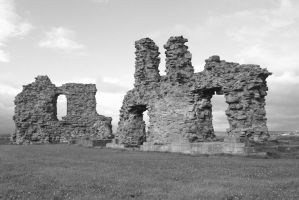 Sandal Castle - remains by CanisDiabolos