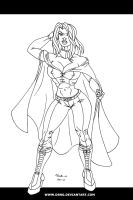 EMMA FROST INKS by DSNG