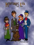 Steampunk Scooby Color by kurtoons