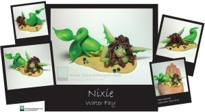 Nixie - Water Fay by lizzarddesigns