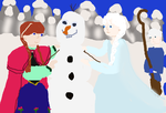 You Wanna Build A Snowman by freacls