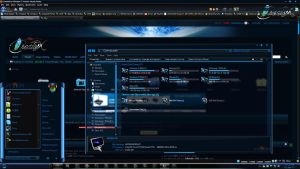 Windows 7 Themes: Infinium by TheBull1