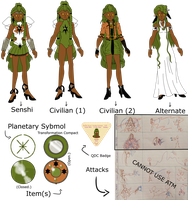 SMOCT3: Sailor Enyo Ref by Re-Pyper