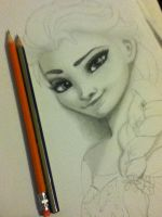 Frozen WIP by nicegal1