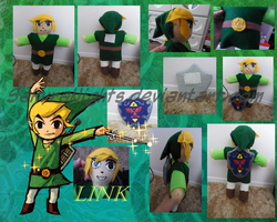 Link- Plush Doll by SakuraNights