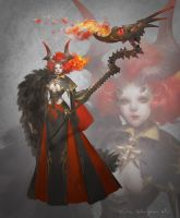 Devil Summoner by Elle-Shengxuan-Shi