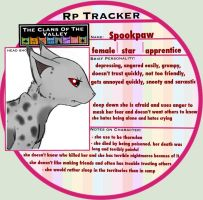 (TcotV) Spookpaw's rp tracker by TheClansOf-TheValley