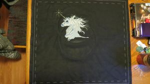 Unicorn Cross Stitch - Part 3 by SorrowsMadness