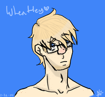 Human Wheatley 2.0 by Cabooselover
