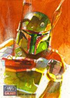 Fett Galaxy 7 Return Card by markmchaley