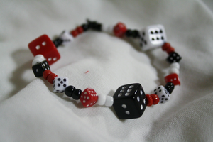 Luck be a Lady Bracelet by DreamsAreWishes