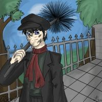 Mary Poppins: Bert by galaxyofgover
