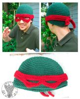 Raphael Hat by TheCrochetDragon