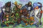 The Fellowship of the Ring by JoJo-Seames