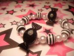 black candy bracelet by leggsXisXawsome