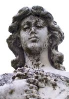 Rossville Cemetery Statue 34 by Falln-Stock