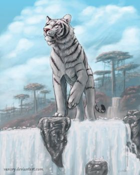 White Guardian by Vanory