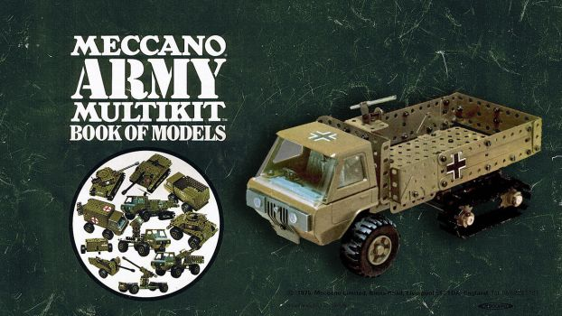 Army meccano Wallpaper by FarawayPictures