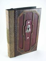 Leather Bound Sketchbook by McGovernArts