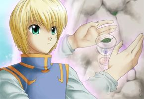 Kurapika - The power inside me by LauraPaladiknight