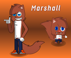 Marshall the Ragamuffin by RHODOL1TE