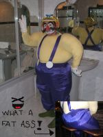 Wario cosplay by Princesa-Daisy