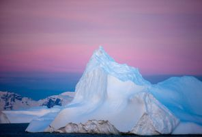 Pink Antarctica by AlterEgoPhotography