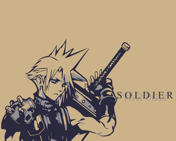 Cloud Strife- SOLDIER by Cloud4ever