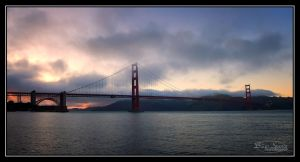 Golden Gate Pano by o0oLUXo0o