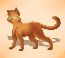 Firestar (Redraw) by candy-behemoth