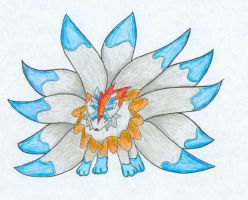 Fakemon: Wispflails by lonly-chibi-dragon