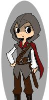 Ezio Auditore - My Western Style by chibidood